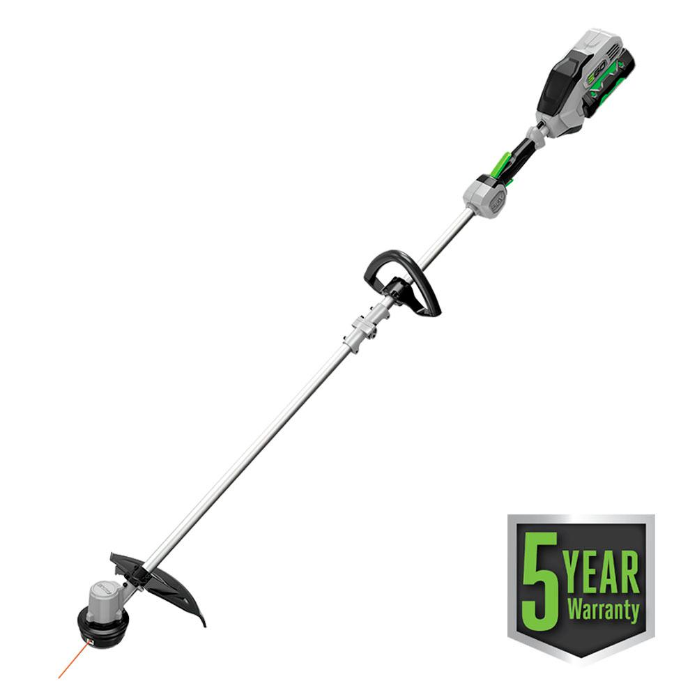15 in. 56-Volt Lithium-ion Electric Cordless String Trimmer w/Rapid Reload Head