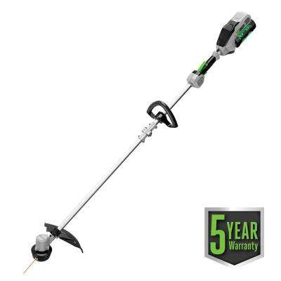 15 in. 56-Volt Lithium-ion Electric Cordless String Trimmer w/Rapid Reload Head with 2.5Ah Battery and Charger Included