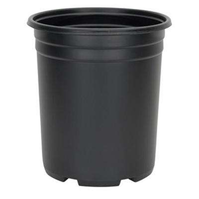 5 Gal. Black Resin Thermoformed Nursery Pot