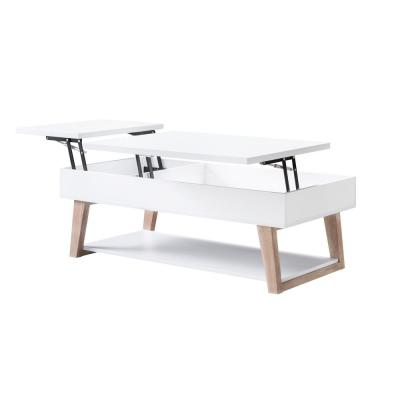 Sharon White Lift-Top Coffee Table