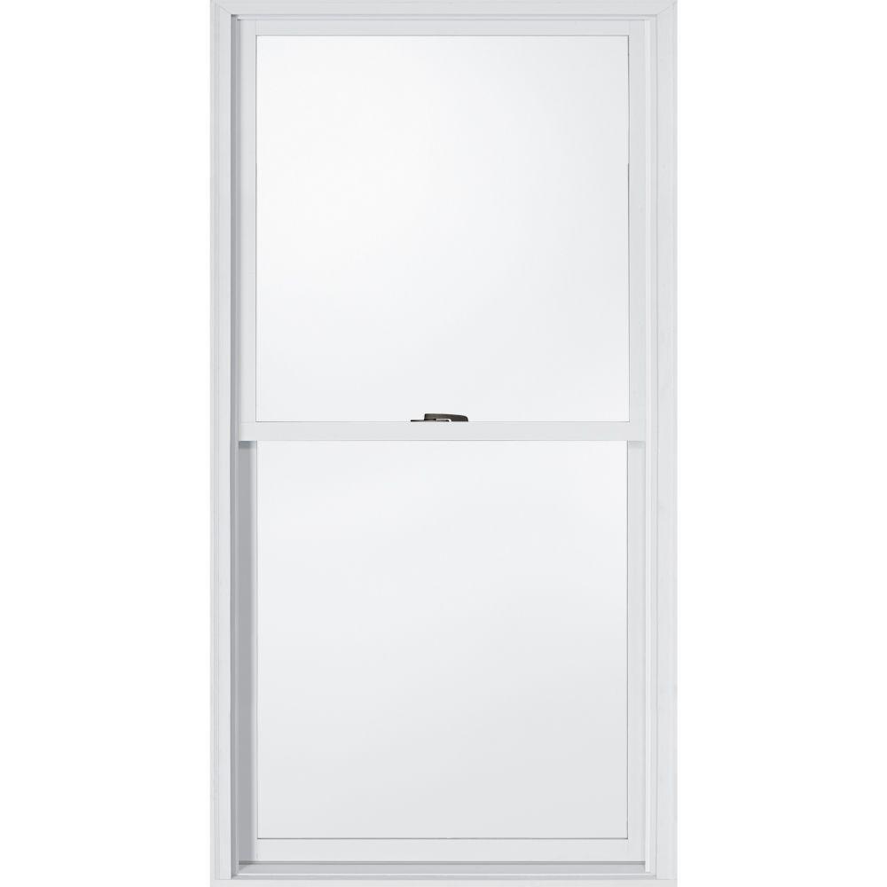 JELD-WEN 29.375 in. x 56.5 in. W-2500 Double Hung Wood Window