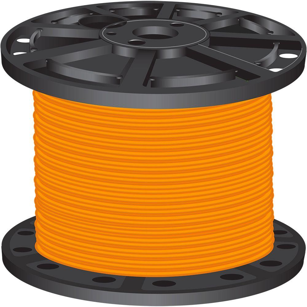 500 ft. 6 Orange Stranded CU SIMpull THHN Wire