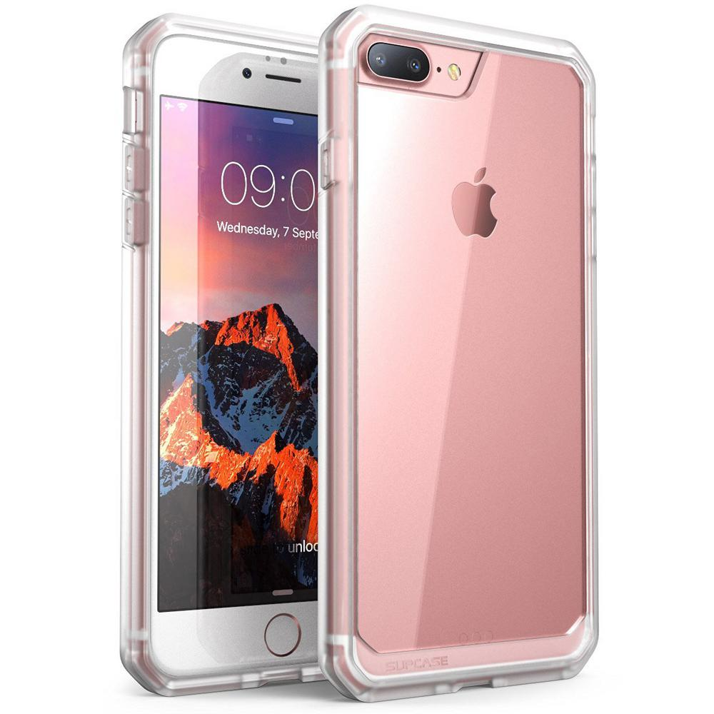reputable site 0d54b aa13e SUPCASE SUPCASE-iPhone 7 Plus Case,Unicorn Beetle Series,Hybrid Clear  Case-Clear