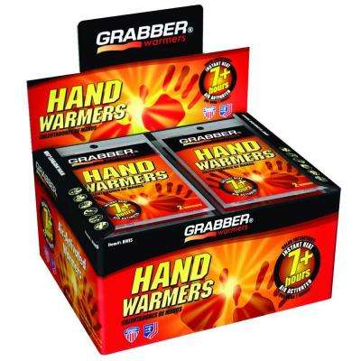 Air Activated Hand Warmer 7 + Hours - Box of 40 pair