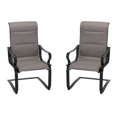 SmartConnect Motion Padded Sling Outdoor Dining Chair (2-Set)