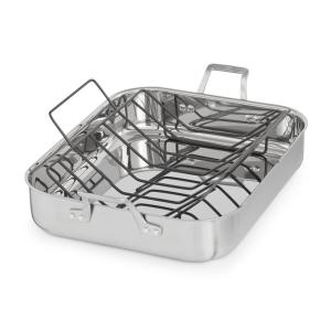 Calphalon Signature 7 Qt. 16 in. Stainless Steel Roaster