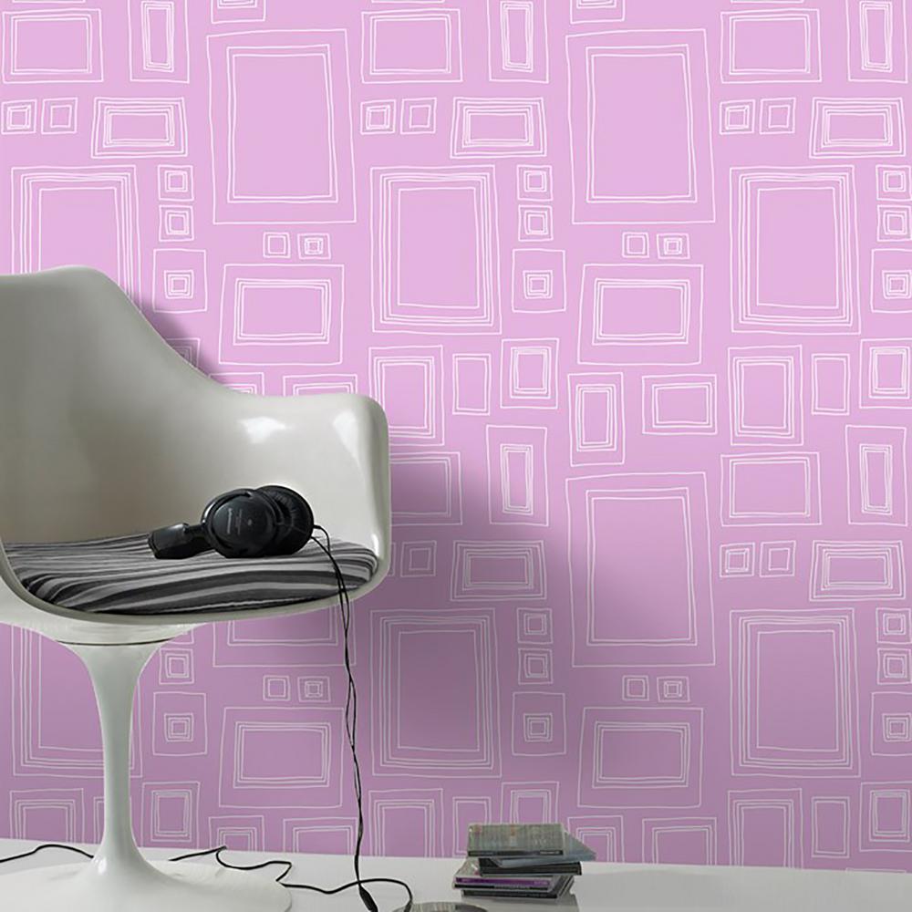 Pink Frames Wallpaper