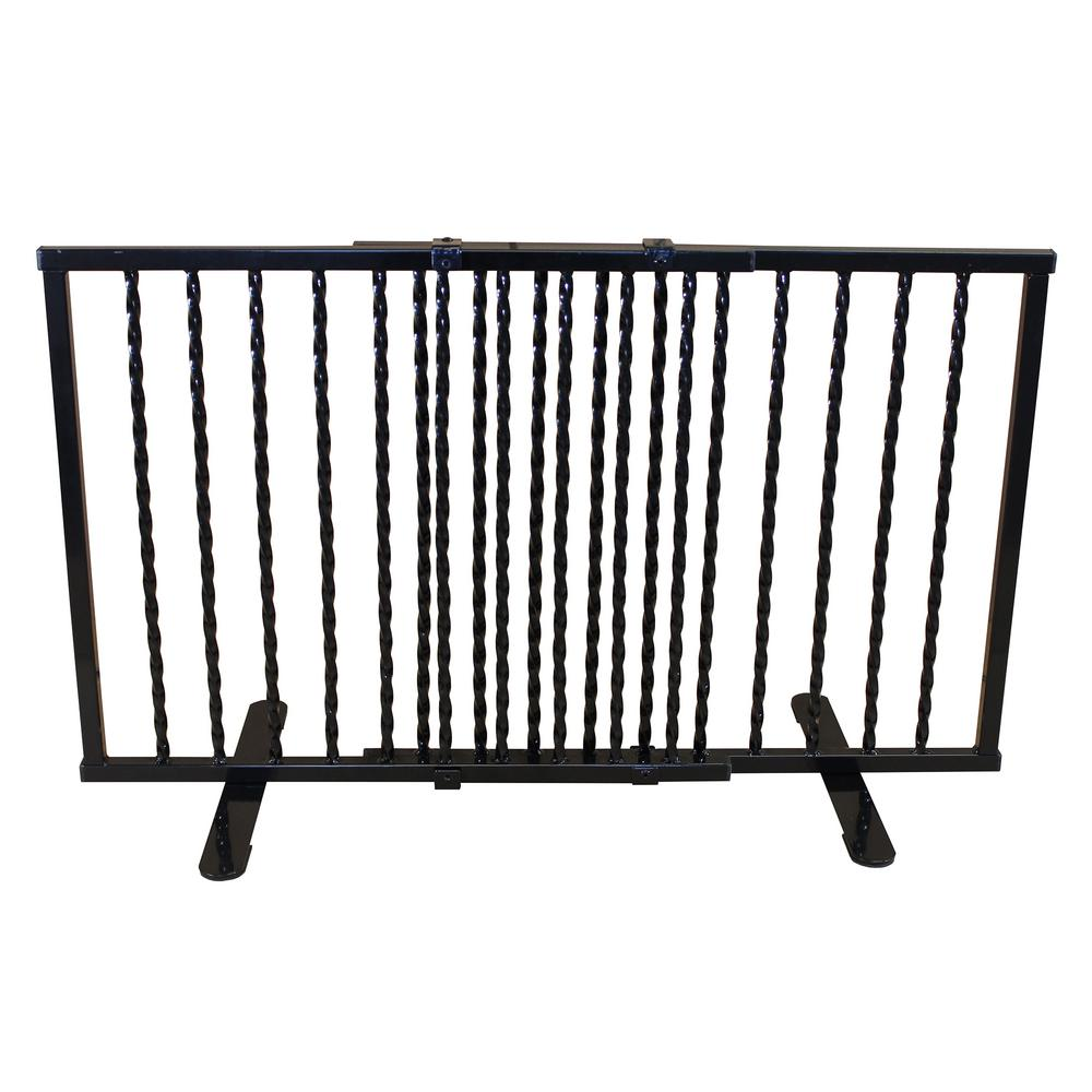 Wrought Iron Gates And Steel Barriers: Cardinal Gates Wrought Iron Step Over Freestanding Pet