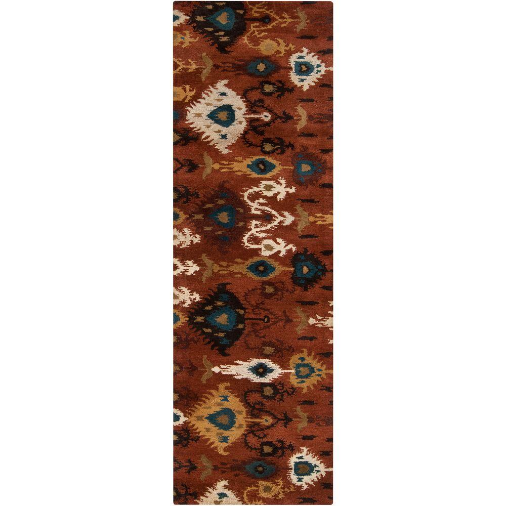 Artistic Weavers Amarillo Rust 2 ft. 6 in. x 8 ft. Rug Runner