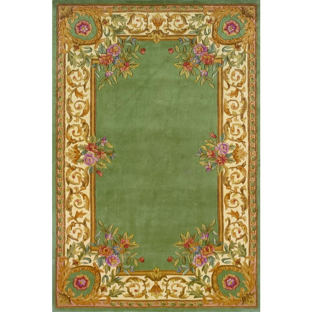 Chateau Sage 5 ft. x 8 ft. Indoor Area Rug
