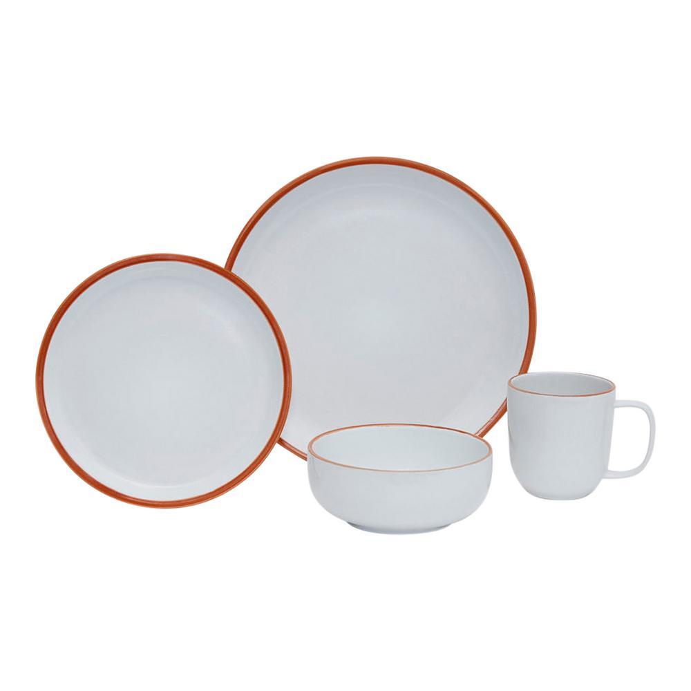 Terra 16-Piece Ceramic Dinnerware Set
