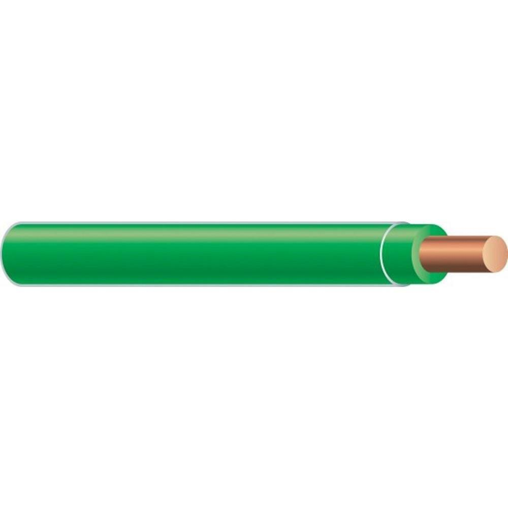 10 2 Wire Electrical The Home Depot Cerrowire Wiring 25 Ft 12 Underground Green Solid Cu Thhn