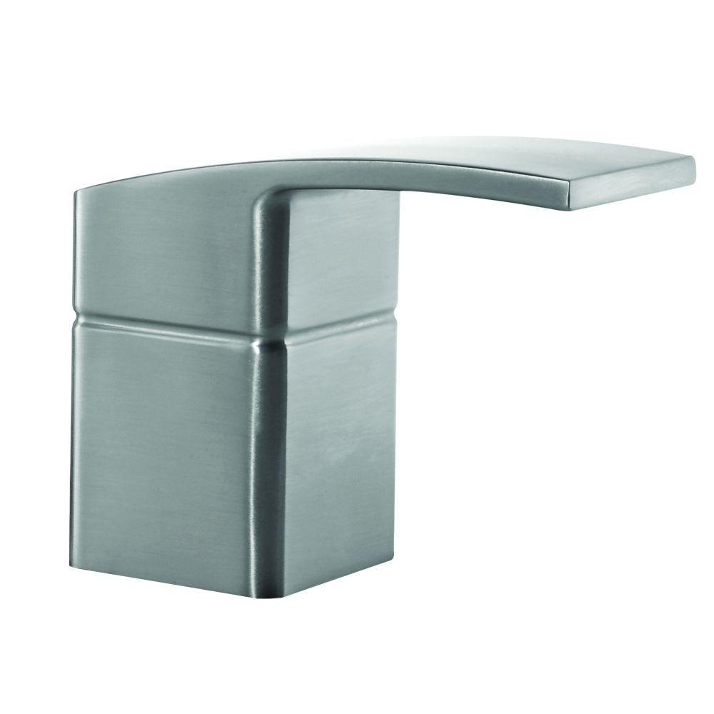 Pfister Kenzo Lavatory Faucet Handle Kit in Brushed Nickel-940942J ...