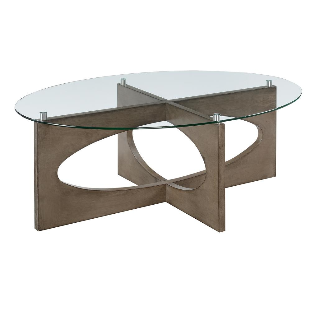 Picket House Furnishings Parkville Gray 3 Piece Occasional Table Set