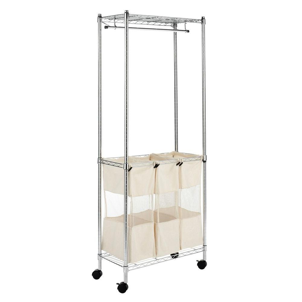 Whitmor Supreme Shelving Collection 31.5 in. x 75 in. Supreme Laundry Center