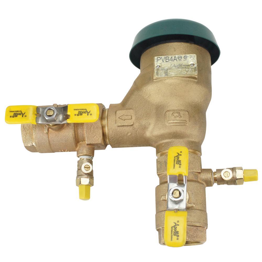 1-1/4 in. Bronze FIP Pressure Vacuum Breaker