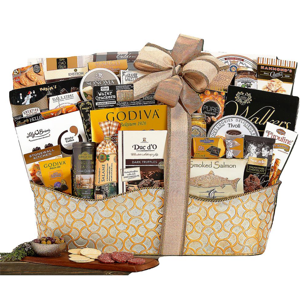 The V.I.P. Gourmet Gift Basket The Ultimate Gifting Experience  sc 1 st  Home Depot : wine country gift baskets - princetonregatta.org