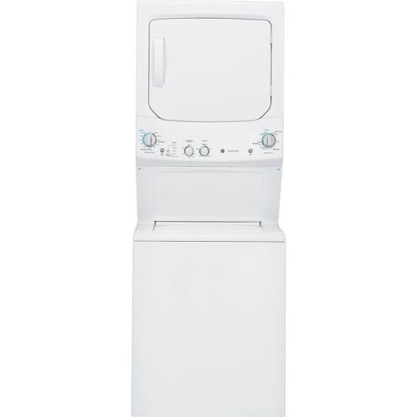 White Laundry Center 3.8 cu. ft. Washer and 5.9 cu. ft. 240-Volt Vented Electric Dryer