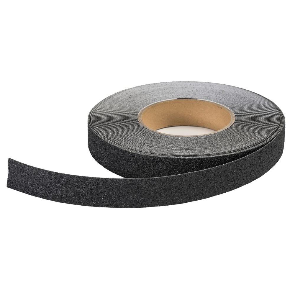 1 in. x 20 yds. Non-Skid Black Grip Tape