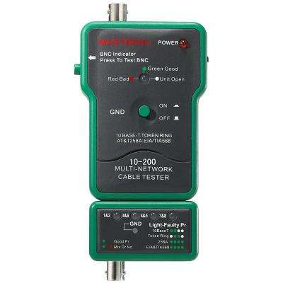 Network Tester for Coaxial BNC