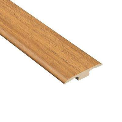 Strand Woven Bamboo Rio 1/4 in. Thick x 1-7/16 in. Wide x 94 in. Length Vinyl T-Molding