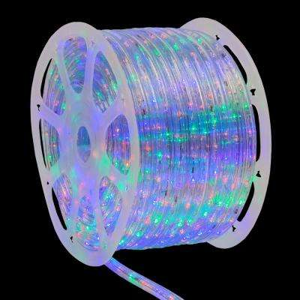 150 ft. 1800-Light Multi-Color Christmas LED Rope Light Kit