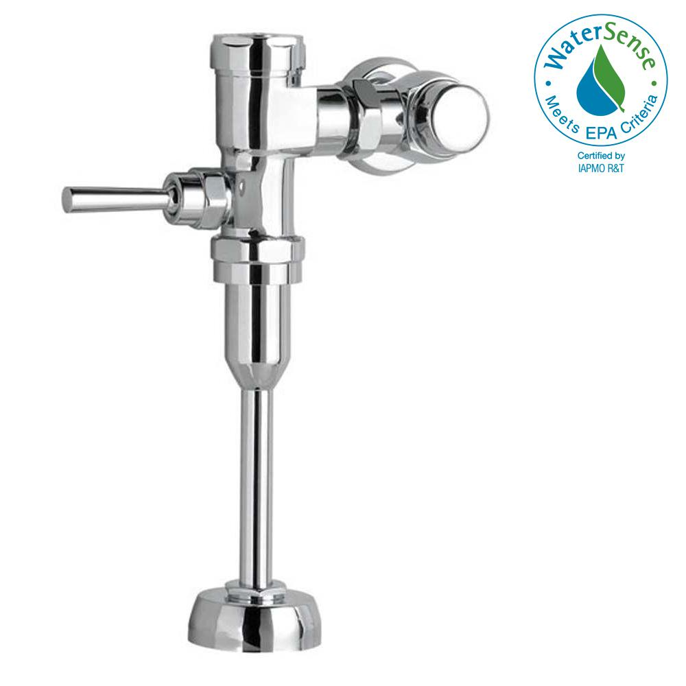 Manual FloWise 0.125 GPF Exposed Urinal Flush Valve in Polished Chrome