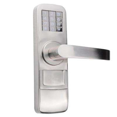 Fully Programmable Electronic Mortise Style Door Lock with Keypad and Right Hand Swing Doors