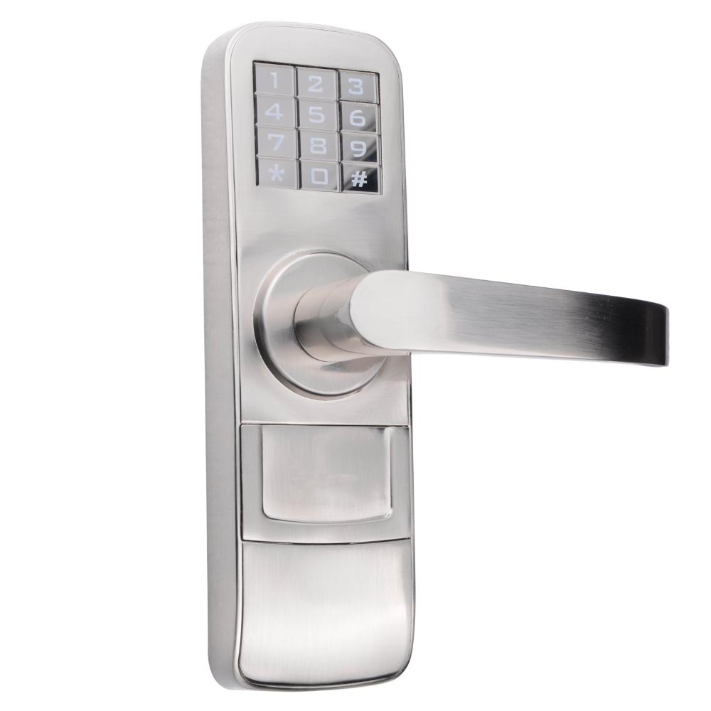 PowerSmart Fully Programmable Electronic Mortise Style Door Lock with Keypad and Right Hand Swing Doors