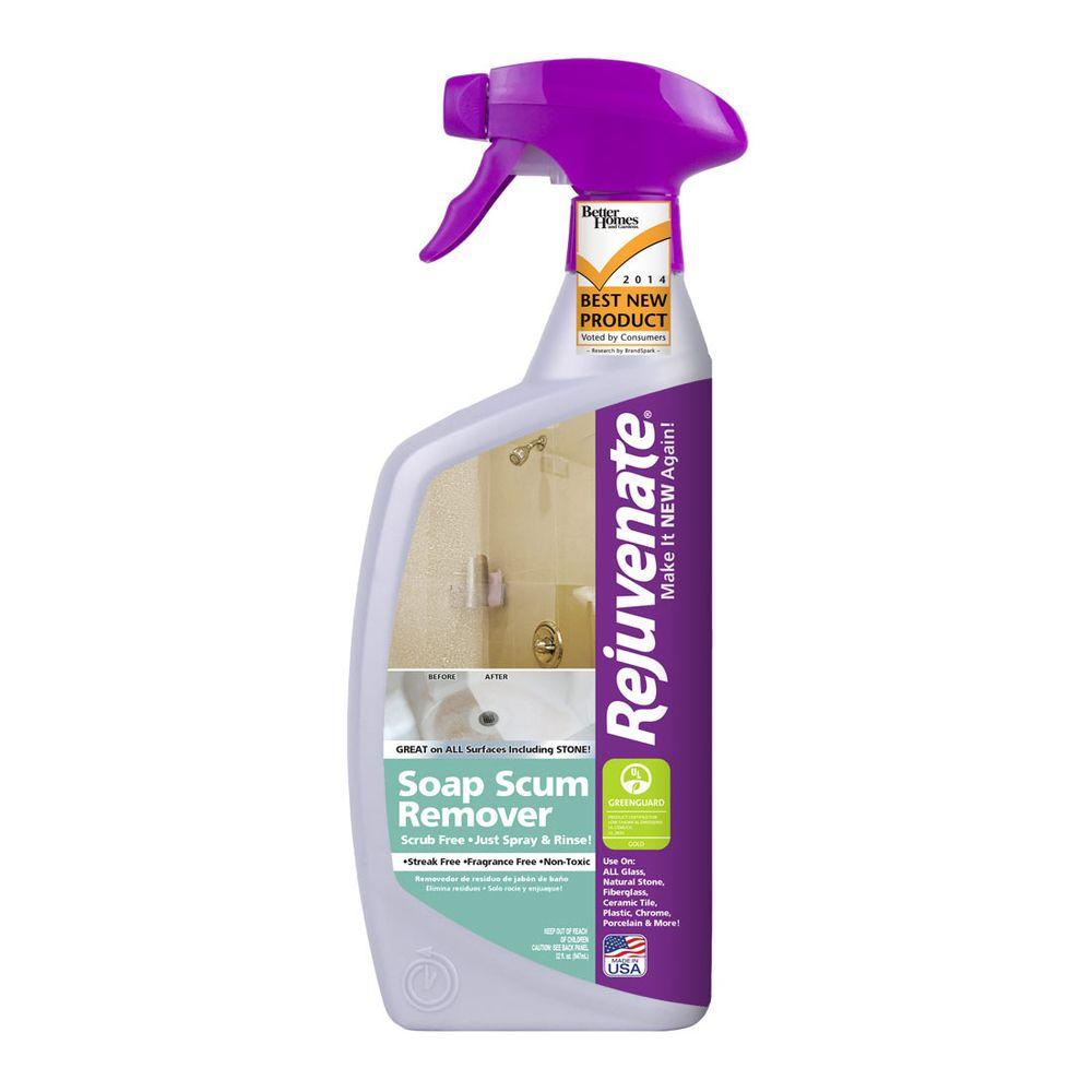 Rejuvenate Oz Soap Scum RemoverRJSSR The Home Depot - Bathroom floor tile cleaning products