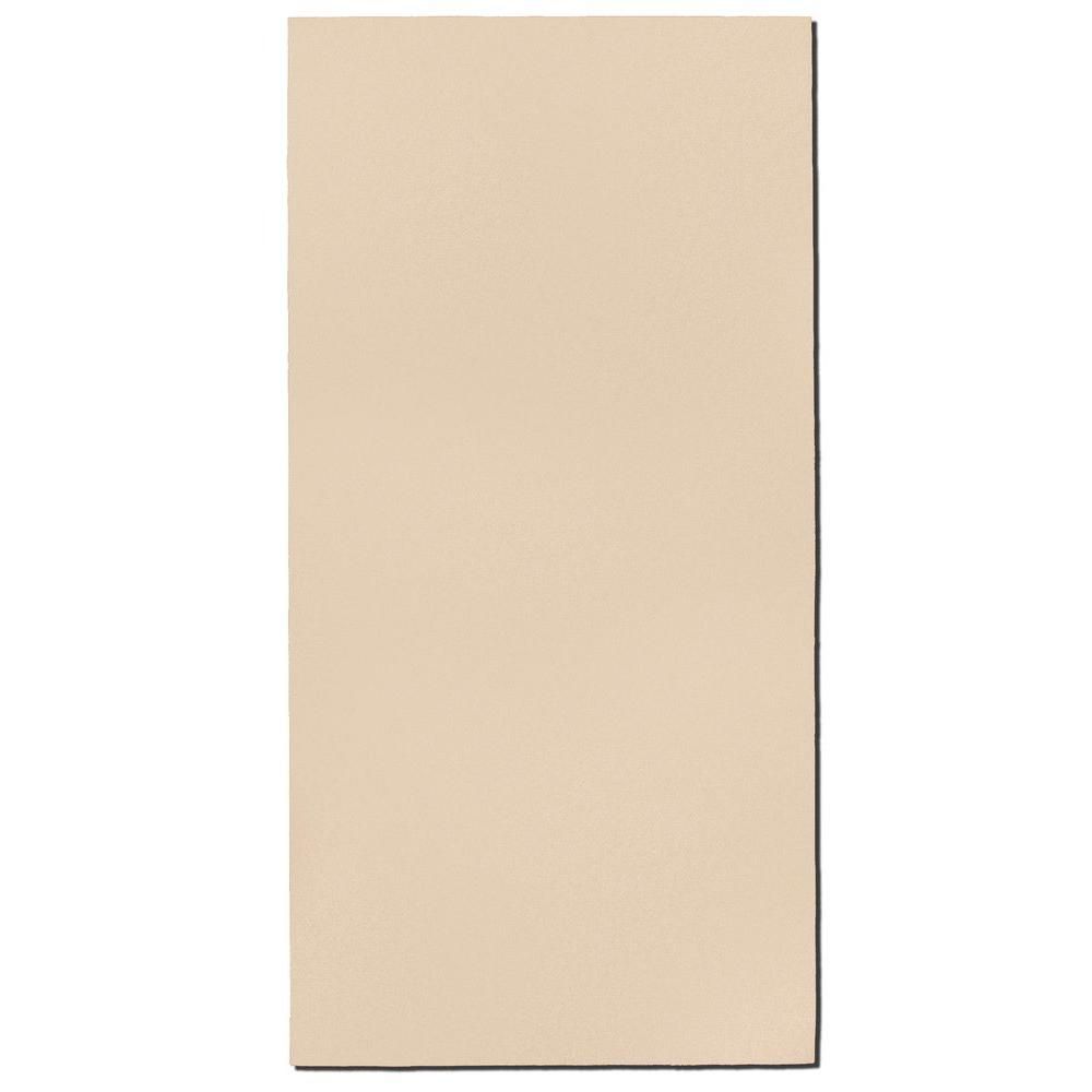 Beige Fabric Rectangle 24 in. x 48 in. Sound Absorbing Acoustic