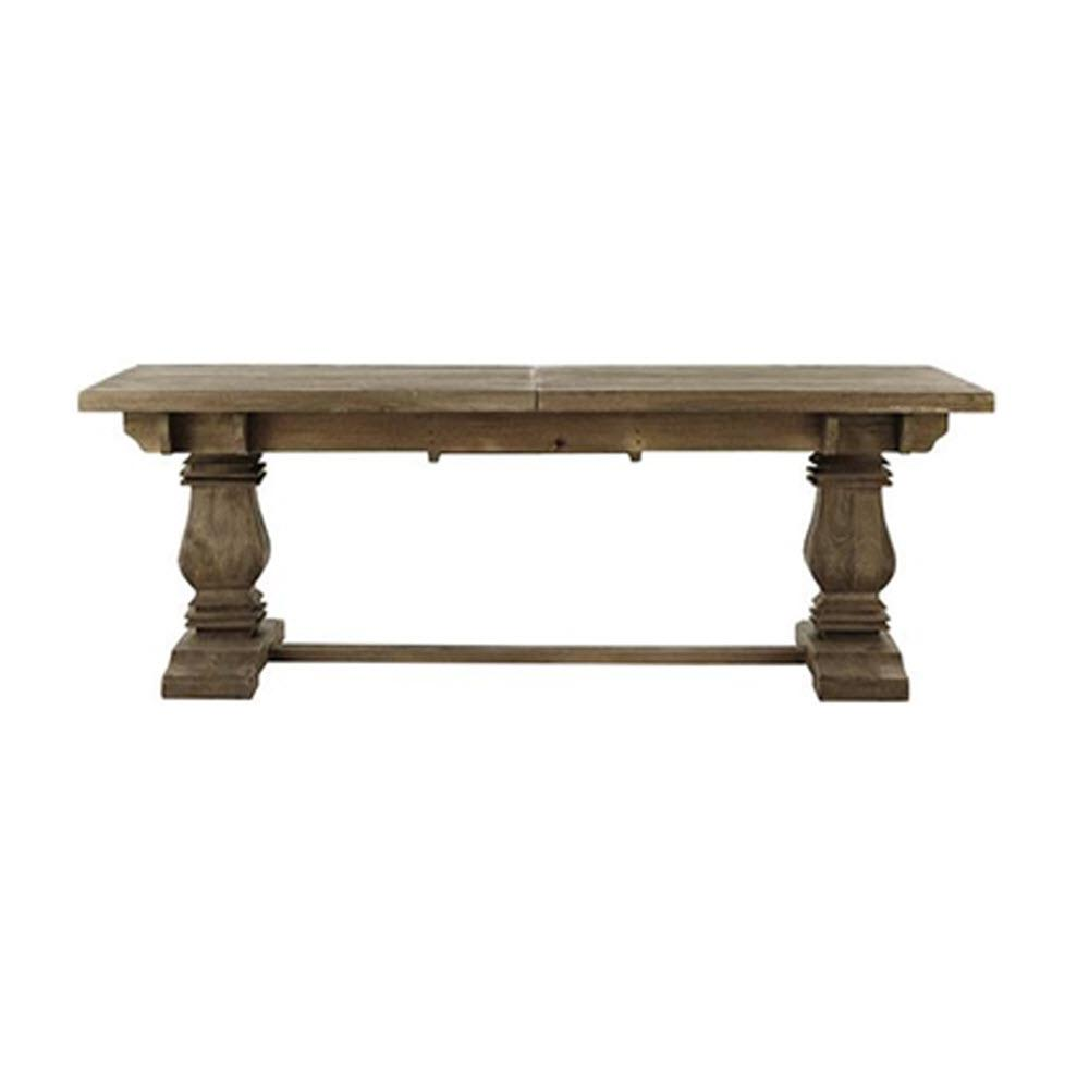 Home Decorators Collection Aldridge Antique Grey Extendable Dining Table