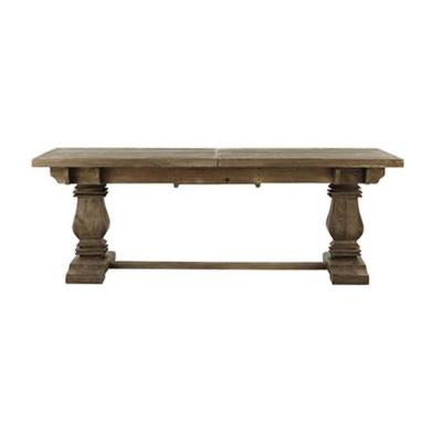 Aldridge Antique Grey Extendable Dining Table