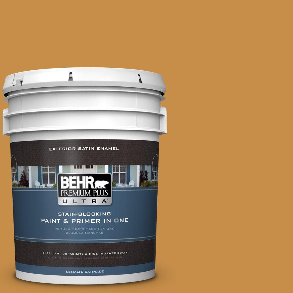 5-gal. #310D-6 Light Copper Satin Enamel Exterior Paint