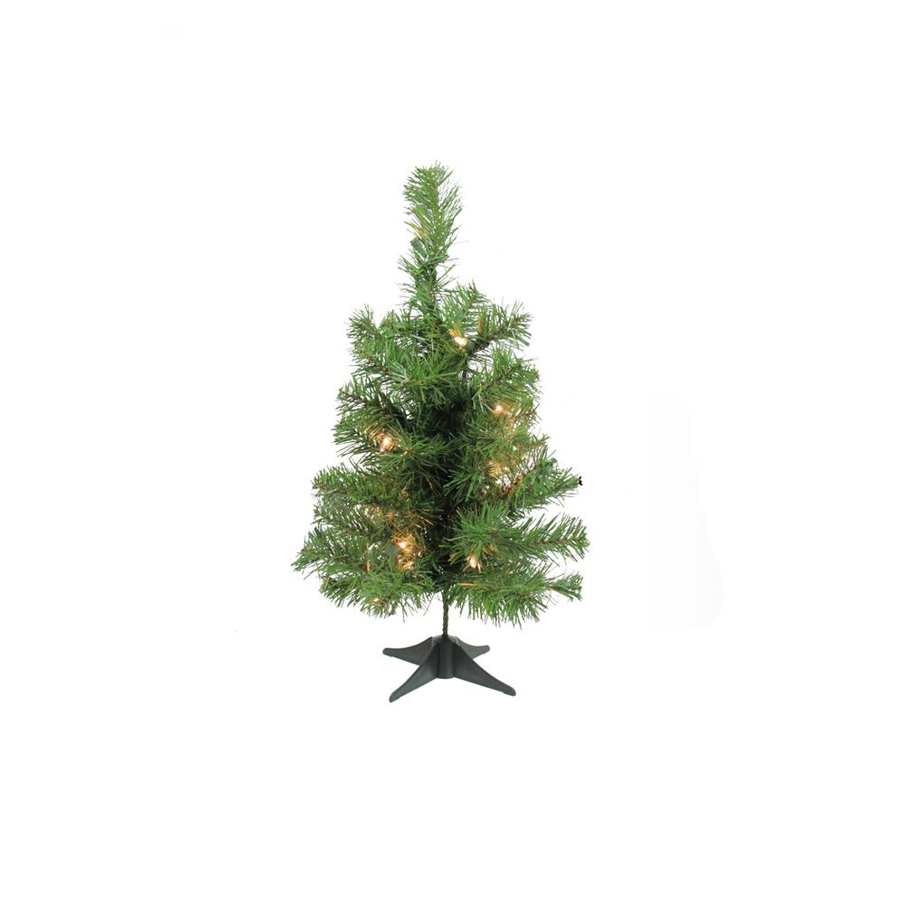 Northlight 18 in. x 10 in. Pre-Lit Traditional Noble Fir ...
