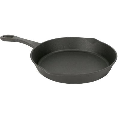 GRILL Access 10 in. Cast Iron Skillet in Black