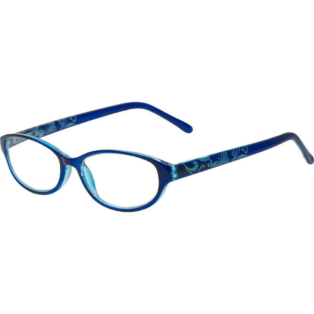 Envy Ivy Nautical Blue Women's 1.75 Diopter Reading Glasses