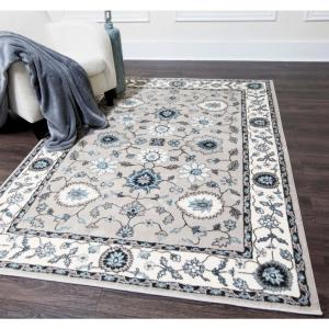Home Dynamix Oxford Taupe 7 ft. 10 inch x 10 ft. 2 inch Indoor Area Rug by Home Dynamix