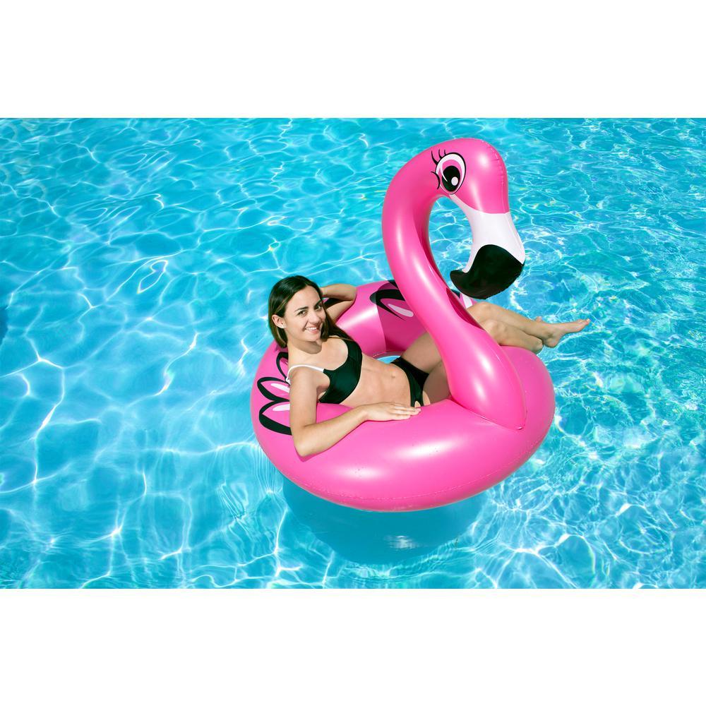 Poolmaster 48 inch Flamingo Swimming Pool Float Tube