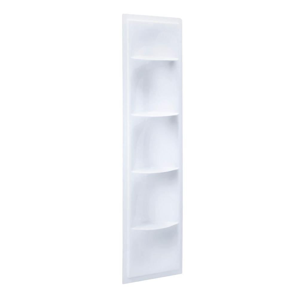 Echelon Shower Niche in White