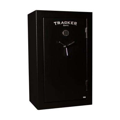 34-Gun Fire-Resistant Electronic Lock, Black Powder Coat