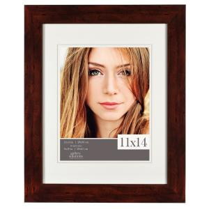 Pinnacle 8 inch x 10 inch Walnut Picture Frame by Pinnacle