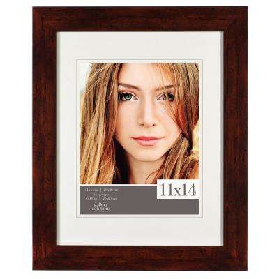 8 in. x 10 in. Walnut Picture Frame