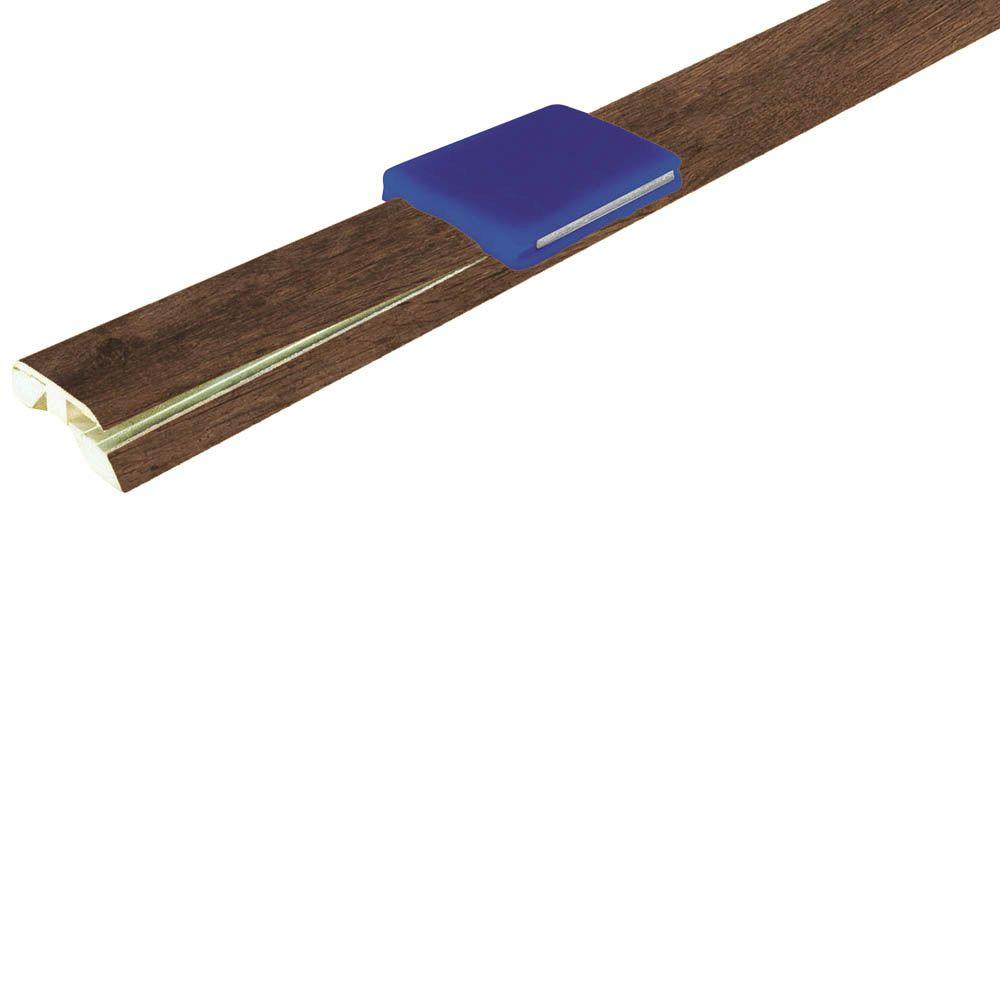 Mohawk Barnwood Oak 1-7/8 in. Wide x 83-1/2 in. Length 4-in-1 Laminate Molding-DISCONTINUED