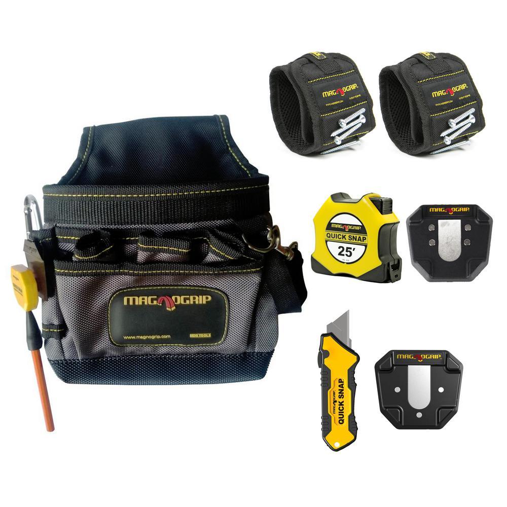 Pro Home Maintenance Magnetic Tool Set (6-Piece)
