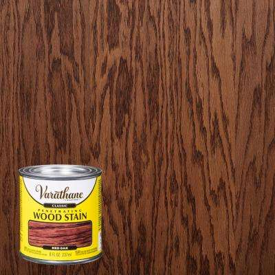 8 oz. Red Oak Classic Wood Interior Stain (4-Pack)