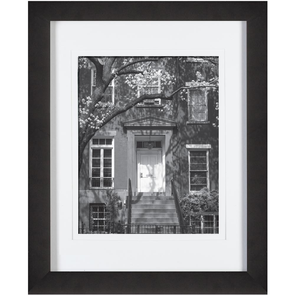 Pinnacle 8 in. x 10 in. Black Picture Frame-09FW2671E - The Home Depot