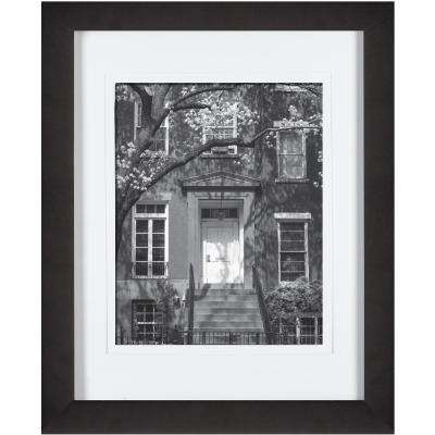 8 in x 10 in black picture frame