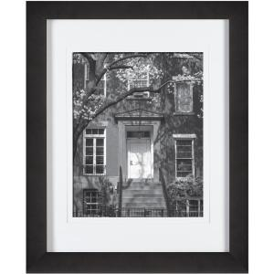 Pinnacle 8 inch x 10 inch Black Picture Frame by Pinnacle