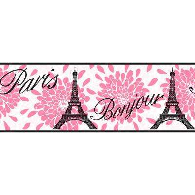 Cool Kids Paris Wallpaper Border